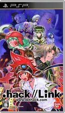 . Hack // vínculo PSP Bandai Sony PlayStation Portable de Japón