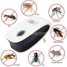 Ultrasonic Electronic Anti Mosquito Pest Mouse Insect Cockroach Repeller Reject