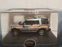 Land Rover, Discovery 3 - Police, Model Cars, Oxford Diecast