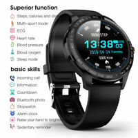 L9 Smart Watch PPG ECG Heart Rate Blood Oxygen Pressure IP68 Fitness Band