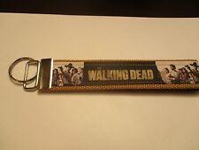 Walking Dead  key chain with wrist holder 3