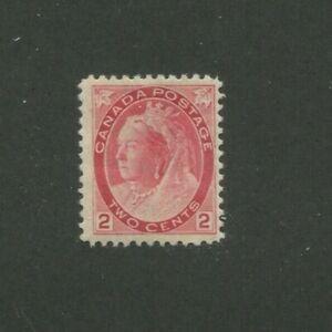 1899 Canada Postage Stamp #77 Mint Lightly Hinged F/VF Original Gum