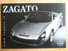 ZAGATO VM180 original factory postcard 2001 - Toyota MR2 MR-S basis