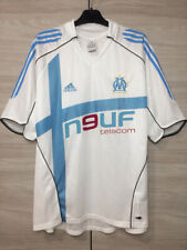 Olympique Marseille 2005-2006 Home Football Soccer Adidas Shirt Maillot size L
