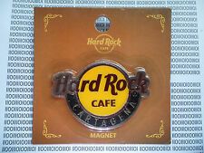 HARD ROCK CAFE CARTAGENA -  CLASSIC GITY LOGO - ROUND MAGNET (no bottle opener )