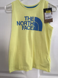 North Face Girls Youth Tri-Blend Tank Sleeveless Shirt Sz L 14-16 NWT MSRP$20