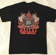 Dallas Fire Rescue All American Bad Axe DFD Shirt Small Firefighters Department