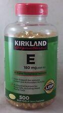 jlim410: Kirkland Signatures Vitamin E 400iu, 500 softgels cod/paypal