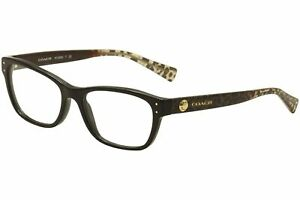 Coach Women's HC6082 Women's Eyeglasses Black/Gold 53mm