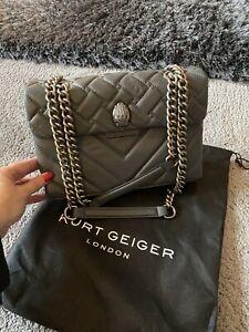 Kurt Geiger Grey Kensington Handbag