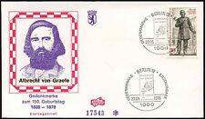 Berlin 1978 Albrecht Von Graefe FDC First Day Cover #C34326