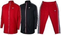 Nike Mens Sportswear Taped Track Suit Pants or Jacket Red New