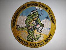 US Navy UNDERWATER DEMOLITION TEAM 12 At DANANG Vietnam War Patch