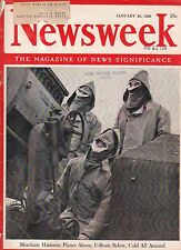 1943 Newsweek January 25 - Women lagging in war effort; Frances Farmer in jail