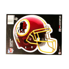 "WASHINGTON REDSKINS HELMET WINDOW DECAL 5.25"" X 6.25"" NFL STICKER CAR  DIE-CUT"