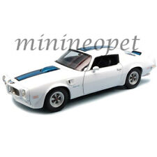 WELLY 24075 1972 PONTIAC FIREBIRD TRANS AM 1/24 DIECAST MODEL CAR WHITE