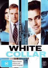 WHITE COLLAR - SEASON 1 2 3 4 5 6 Box Set  DVD - UK Compatible -sealed