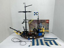 Vintage Lego 6274 Pirate Ship Caribbean Clipper 1989, 100% Complete 1 BROKEN PC