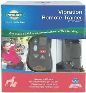🐶 PetSafe Vibration Remote Trainer Collar Dog Training - NEW FACTORY SEALED! 🐩