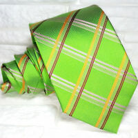 Cravatta checks tartan TOP Quality Nuovo Made in Italy 100% seta  Morgana brand
