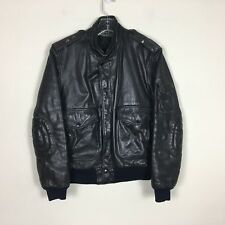 Vintage Hein Gericke Harley Davidson motorcycle jacket Size 36 Real Leather
