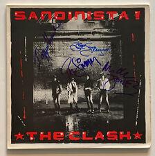 The Clash Autographed vinyl Album signed by 4 Joe Strummer  |  Beckett BAS coa