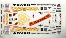 1/10 RC Car Greedy D1 GP RX7 Decal Set