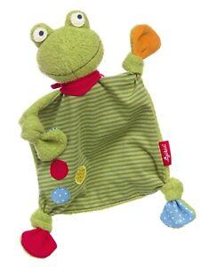 Sigikid Schnuffeltuch Flecken Frog ca. 25 cm Art-Nr. 39148 Neu