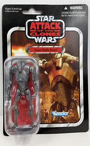 Star Wars Vintage Collection Super Battle Droid Action Figure VC37 New Sealed
