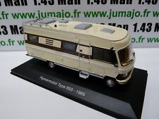 CC2 1/43 camping cars hachettes TEST ITALIE : MERCEDES Hymermobil type 650 1985