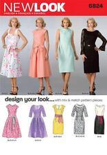 Nuevo aspecto patrón de costura Misses diseño te ves Vestido Vestidos Talla 8 - 18 6824