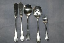 Oneida Community stainless Patrick Henry serving pieces