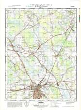 Russian Soviet Military Topographic Maps - RAKVERE (Estonia),1:50 000, ed.1974