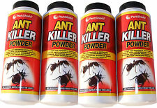 4 x 240g BOTTLES OF ANT KILLER POWDER FOR INDOOR & OUTDOOR USE (960g TOTAL)