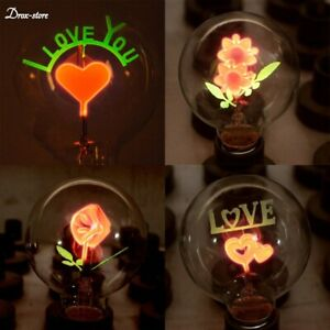 Edison E27 220v Incandescent Light Bulb G80 Decorative Vintage Home Lamp Novelty