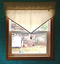 Croscill Home Ascot Window Treatment Valance 40W x 23L Tassels ~ Free Shipping