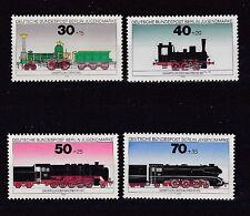 Berlin 1975 postfrisch MiNr.  488-491  Jugendmarken  Lokomotiven
