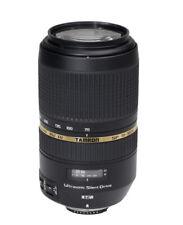 Objetivos zoom Tamron SP 70-300mm para cámaras
