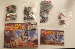 LEGO Star Wars 75081 T - 16 Skyhopper Komplett selten aus 2015 Top Zustand