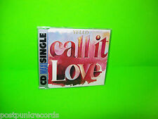 YELLO ‎Call It Love 3-TRACK CD RARE SYNTH-POP ELECTRO Made In Germany 1987