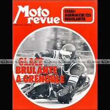 MOTO REVUE N°2063 AERMACCHI 125 R/C ★ HONDA CB 350 FOUR, XL 250 ★ SPEEDWAY 1972