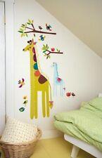 Wallies® WallPlay Wandtattoo XXL Messlatte Giraffe wiederverwendbar ablösbar