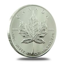 New 2011 Canadian Silver Maple Leaf 1oz .9999 Bullion Coin Capsulated by RC Mint