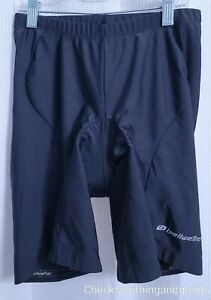 Bellwether Black Padded Cycling Shorts size LARGE Men's
