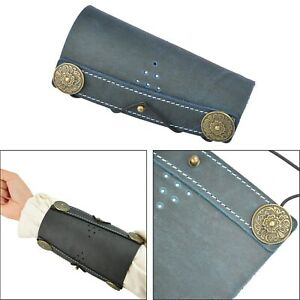 Leather Arm Guard Protector Gear Bow Shooting Target Archery Traditional BU TE