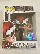 CARNAGE (CARLA UNGER) Funko Pop Marvel #654 Pop In A Box Exclusive