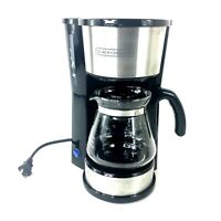 Black & Decker CM0750 5 Cup 4 in 1 Coffee Maker