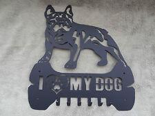 CHIAVE RACK CON 7 Ganci, Amo il mio cane Design