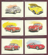 Complete/Full Sets Motor Cars/Bikes Original Collectable Trade Cards