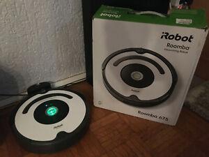 iRobot Roomba 675 Saugroboter ,Staubsauger Roboter W-Lan , APP steuerbar ,ALEXA